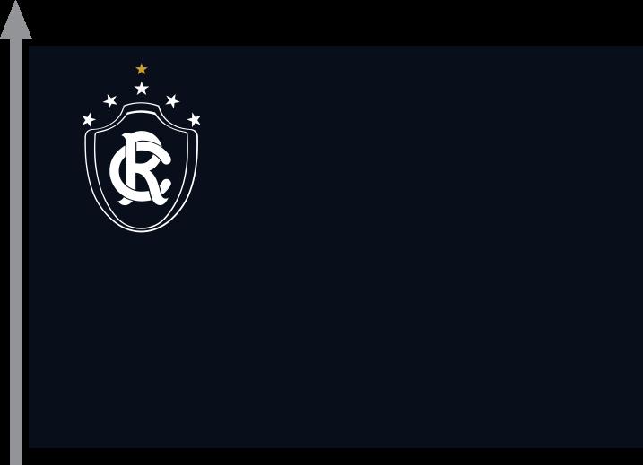 d05f4bd636 A bandeira do CLUBE DO REMO será de forma retangular